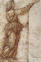 Angel, 1490, botticelli