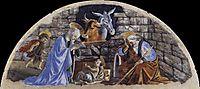 The Birth of Christ, 1476-77, botticelli