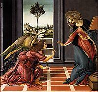 Cestello Annunciation, 1489-90, botticelli