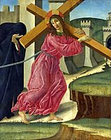 Christ Carrying the Cross, c.1490, botticelli