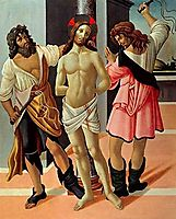 The Flagellation, c.1490, botticelli