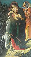 The Flight into Egypt, botticelli
