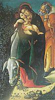 The FlightintoEgypt, botticelli