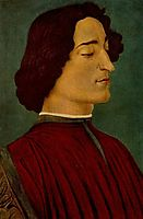 Giuliano de Medici, 1478, botticelli