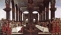 History degli Onesti Nastagio following episode, 1483, botticelli