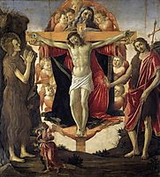 Holy Trinity, 1491-93, botticelli