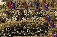 Inferno, Canto XVIII, 1480, botticelli