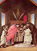 Last Communion of St Jerome, c.1495, botticelli