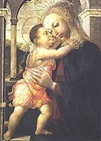 Madonna and Child, 1467, botticelli