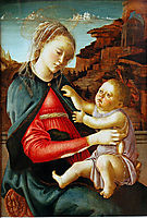 Madonna and Child, 1470, botticelli