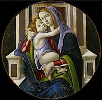 Madonna and Child, 1510, botticelli