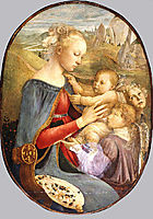 Madonna and Child with Two Angels, botticelli