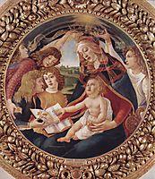 Madonna del Magnificat, 1485, botticelli