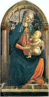 The Madonna of the Roses, c.1470, botticelli