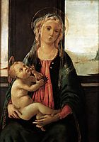 Madonna of the Sea, c.1477, botticelli