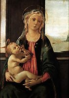 Madonna of the Sea, 1477, botticelli