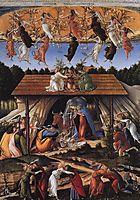 The Mystical Nativity, c.1500, botticelli