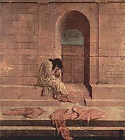 The outcast, c.1496, botticelli