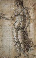 Pallas, 1490, botticelli