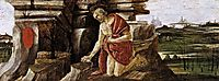 Penance of Saint Jerome, 1490-92, botticelli