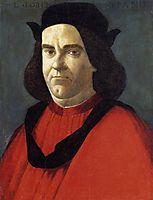 Portrait of Lorenzo di Ser Piero Lorenzi, 1490-95, botticelli