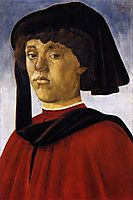 Portrait of a young man, 1469, botticelli