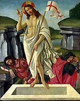 The Resurrection, c.1490, botticelli