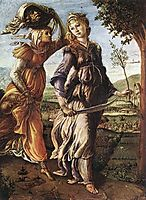 The Return of Judith to Bethulia, 1472, botticelli
