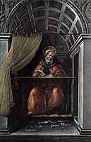 Saint Augustine in his cell, 1490-92, botticelli