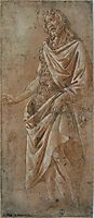 Saint Jean Baptiste, 1490, botticelli