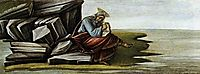Saint John on Patmos, 1490-92, botticelli