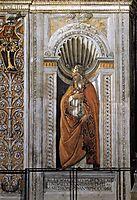 Saint Sixtus II, 1481, botticelli