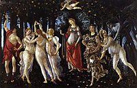 Spring, 1482, botticelli
