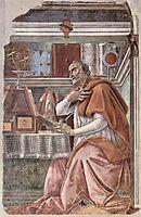 St Augustine, c.1480, botticelli