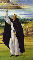 St. Dominic, botticelli