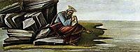 St John on Patmos, 1492, botticelli