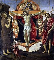 Trinity, botticelli