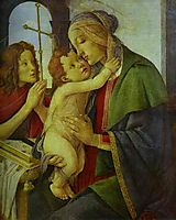 The Virgin and Child with the Infant St. John, botticelli