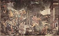 TheYouth Moses, 1482, botticelli