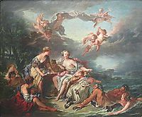 The Abduction of Europe, 1747, boucher