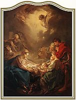 Adoration of the Shepherds, 1750, boucher