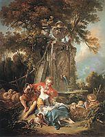 An Autumn Pastoral, 1749, boucher