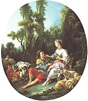Are They Thinking About the Grape?, 1747, boucher