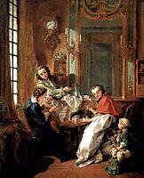 Breakfast, 1739, boucher