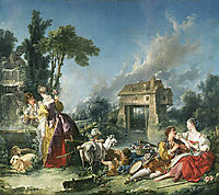 The Fountain of Love, 1748, boucher