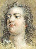 Head of King Louis XV, c.1729, boucher