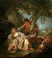 The Interrupted Sleep, 1750, boucher