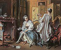 La Toilette, 1742, boucher
