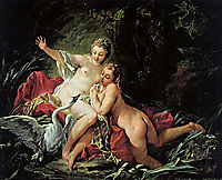 Leda and the Swan, 1741, boucher