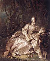 Madame de Pompadour, 1758, boucher